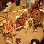 Sweet, Savory Snow Crab Legs
