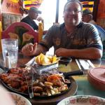 Under new management a very different feel. The fajitas for two served by a smiling Lupe. Thanks