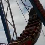 one of the rides at the theme park