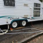 Sites are hard to get caravan level without assistance