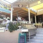 Zorbas taverna entrance