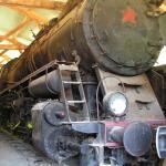et même de vieille locomotives à vapeur