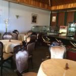 Salón de café interior
