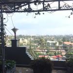 Vistas desde la terraza del restaurante