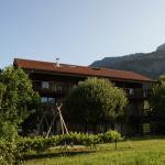 Annexe : balcons et jardin