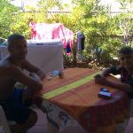 Donato& Mattia in veranda
