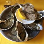 Nos premières huîtres des vacances