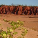 Mars like cliff