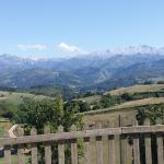 Vistas de Picos de Europa desde Balcón del Marqués
