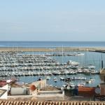 Uitzicht op zee en haven (voor beperkt aantal kamers)