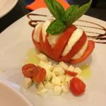 Wonderful Caprese salad