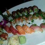 Sushi platter at Sushi Hai