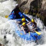 Rafting on the Rio Chili near Arequipa