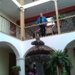 Vista interna del Hotel.