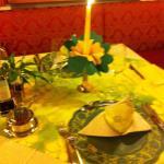 Il nostro tavolo ogni sera più bello...