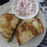 Grilled Cheese & Crab Sandwich!!