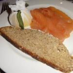 John Ross smoked salmon & soda bread