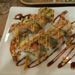One delightful sushi roll