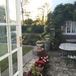 our little patio area