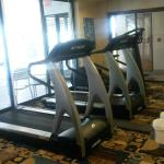 Holiday Inn Express, Sturtevant, WI - fitness room, next to pool