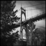 Beneath the St. Johns Bridge