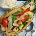 Pineapple Chicken with Cashews