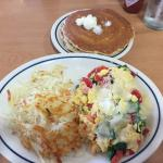 The Tuscan Scramble is very good! We love IHOP pancakes . They are so soft and always cooked jus