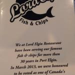 Foto de Lord Elgin Fish & Chips