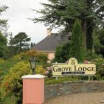Entrance to Grove Lodge