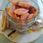 A pint of prawns