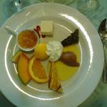 Assiette de desserts