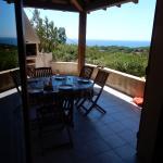 terrasse appartement N°4 avec vue mer