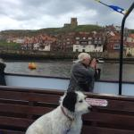 Wonderful Whitby boat tour.