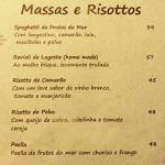 A Casa Vidal_menu