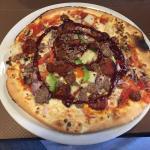 My BBQ pizza