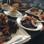 BBQ Coma! SO good. Portions are huge and pricing & service are great!  Best Mac & Cheese ever!