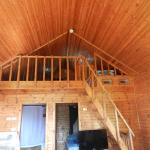 Loft area of Cabin