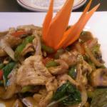 Chicken Basil @ Thai O Restaurant in Redmond, OR