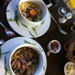 Pastas en La Taverne du Pecheur