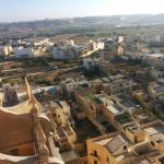 Xewkija from the bell tower