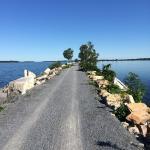 Burlington Bike Path - Causeway