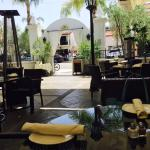 Petros Restaurant, outdoor seating