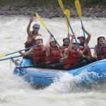 Jasper Whitewater rafting with Jeremy