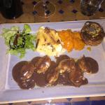 Filets de caille au foie gras
