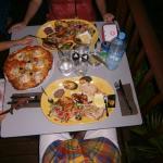 Belles assiettes au Mahina