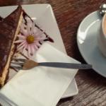 Chock brownie cheesecake
