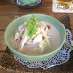 Starter Chicken Coconut Soup