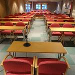 Our conference room can seat 120 in a classroom setting.