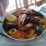 The mixed paella