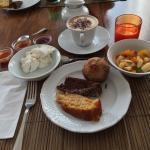 Colazioni e alcuni piatti del territori